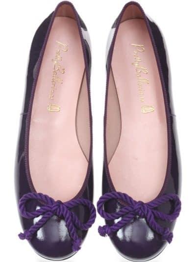 Rosario Purple ירוק נעלי בובה נעלי בלרינה נעליים שטוחות נעליים נוחות ballerinas