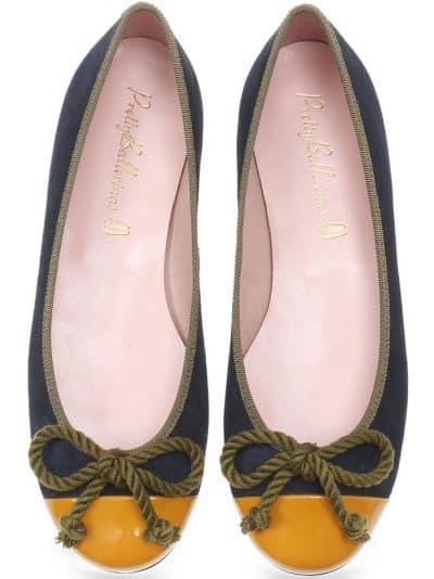 Sunny Field כחול נעלי בובה נעלי בלרינה נעליים שטוחות נעליים נוחות ballerinas