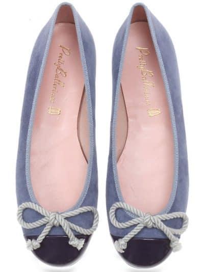 Sunny Meadow ירוק אפור נעלי בובה נעלי בלרינה נעליים שטוחות נעליים נוחות ballerinas