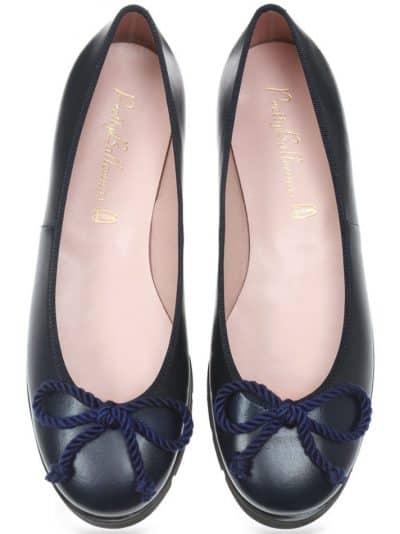 Blue Pop||נעלי בובה|נעלי בלרינה|נעליים שטוחות|נעליים נוחות|ballerinas