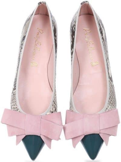 Green Meadow ירוק נעלי בובה נעלי בלרינה נעליים שטוחות נעליים נוחות ballerinas