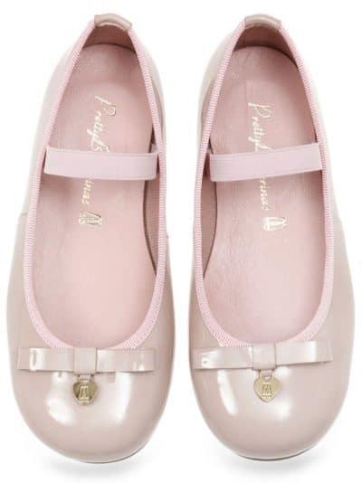 Pink Bunny|ורוד|ילדות| בלרינה|נעלי בלרינה לילדות|נעלי בלרינה