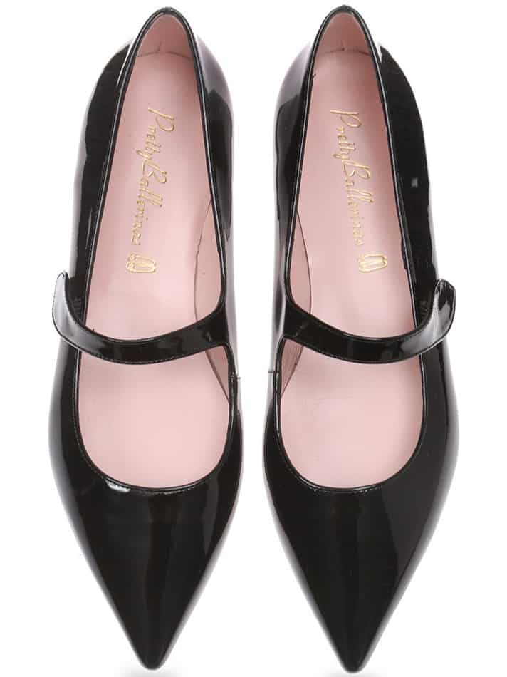 Childhood dream|שחור|נעלי בובה|נעלי בלרינה|נעליים שטוחות|נעליים נוחות|ballerinas