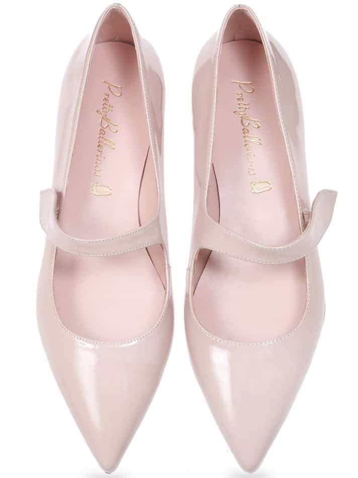 Pink Candy|ורוד|נעלי בובה|נעלי בלרינה|נעליים שטוחות|נעליים נוחות|ballerinas