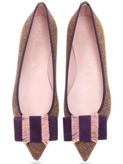 Merry Berry|כסף|אדום|כחול|סגול|נעלי בובה|נעלי בלרינה|נעליים שטוחות|נעליים נוחות|ballerinas