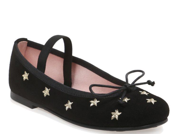 Little Betty|שחור|ילדות| בלרינה|נעלי בלרינה לילדות|נעלי בלרינה