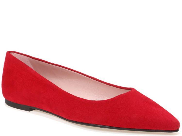 Perfect Red||נעלי בובה|נעלי בלרינה|נעליים שטוחות|נעליים נוחות|ballerinas