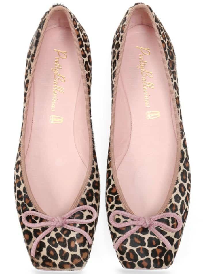Pink Panther Ballerina|שחור|חום|נעלי בובה|נעלי בלרינה|נעליים שטוחות|נעליים נוחות|ballerinas
