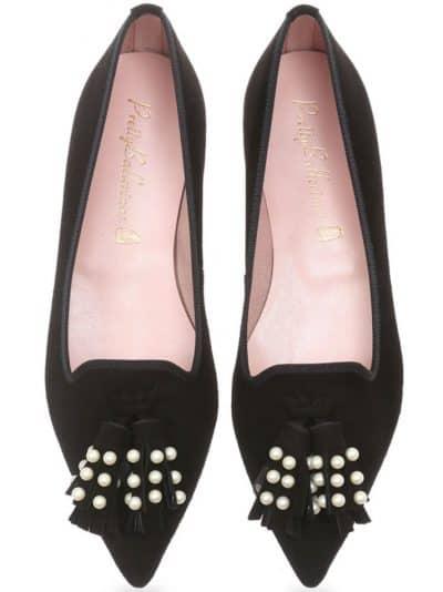 Pleasure Snake|חום|ירוק|נעלי בובה|נעלי בלרינה|נעליים שטוחות|נעליים נוחות|ballerinas