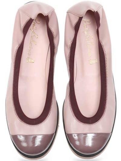 Pinky Perfect|ורוד|נעלי בובה|נעלי בלרינה|נעליים שטוחות|נעליים נוחות|ballerinas
