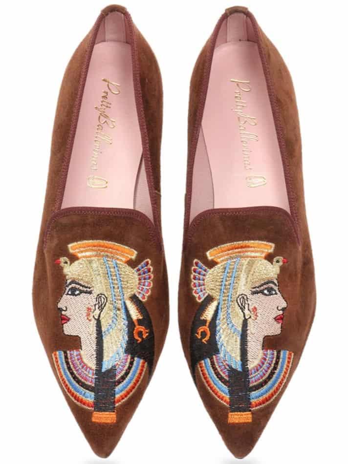 Royal Bow|חום|נעלי בובה|נעלי בלרינה|נעליים שטוחות|נעליים נוחות|ballerinas