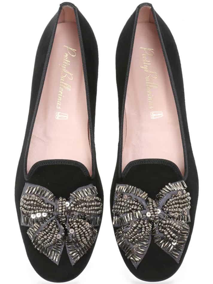Royal Loafer|שחור|נעלי בובה|נעלי בלרינה|נעליים שטוחות|נעליים נוחות|ballerinas