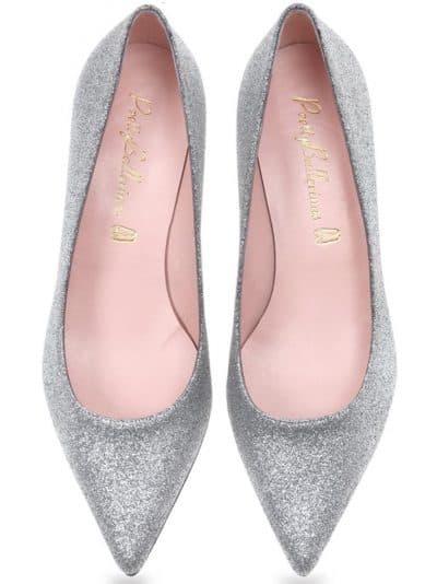 Silver Diva|כסף|עקב|נעלי עקב|Heels