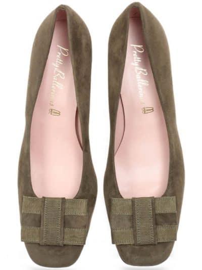 Geometric Heel|ניוד|חום|עקב|נעלי עקב|Heels