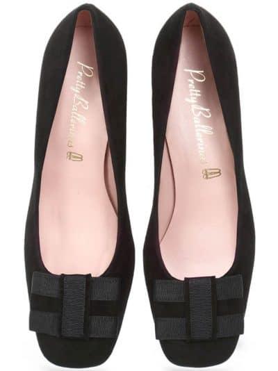 Velvet and Suade|שחור|עקב|נעלי עקב|Heels