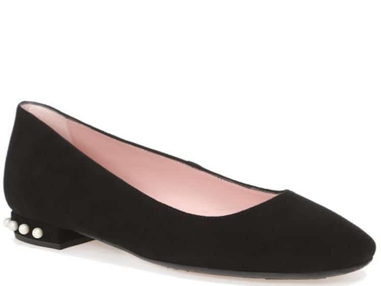 Pearl Heel|שחור|עקב|נעלי עקב|Heels