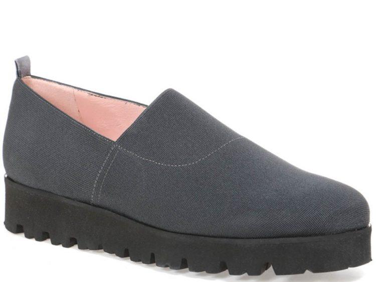 Striped Night|כחול|אפור|נעלי בובה|נעלי בלרינה|נעליים שטוחות|נעלי פלטפורמה|ballerinas