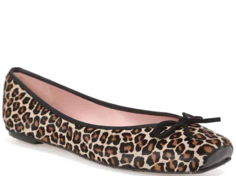 Panther Ballerina|ורוד|חום|נעלי בובה|נעלי בלרינה|נעליים שטוחות|נעליים נוחות|ballerinas