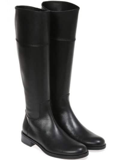 ZipUp Boot|שחור|מגפיים|מגפיים לנשים|מגפי עור לנשים