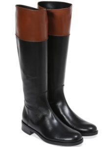 ZipUp Cowgirl|שחור|מגפיים|מגפיים לנשים|מגפי עור לנשים