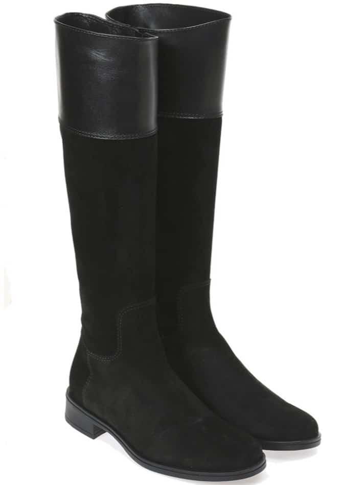 ZipUp Black|שחור|מגפיים|מגפיים לנשים|מגפי עור לנשים