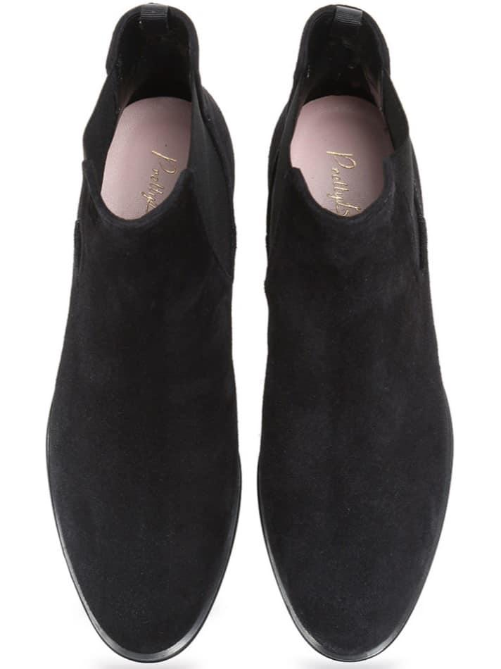 Black Booties|שחור|מגפונים|מגפוני נשים|מגפוני עקב