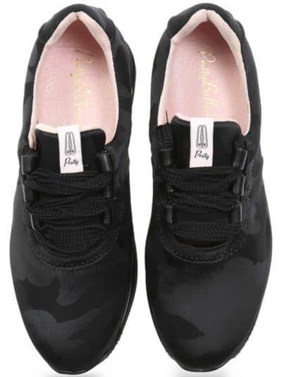 Camu Sneakers|ירוק|חום|שחור|סניקרס|סניקרס לנשים|נעליים שטוחות