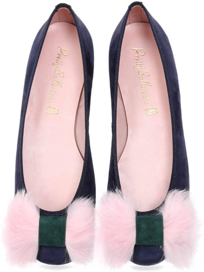 Early Morning|כחול|ירוק|נעלי בובה|נעלי בלרינה|נעליים שטוחות|נעליים נוחות|ballerinas