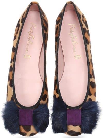 Posh Panther|חום|שחור|סגול|נעלי בובה|נעלי בלרינה|נעליים שטוחות|נעליים נוחות|ballerinas