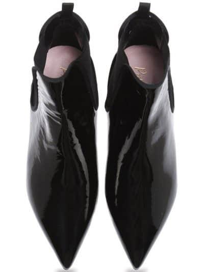 Classic Point Boots|שחור|מגפונים|מגפוני נשים|מגפוני עקב
