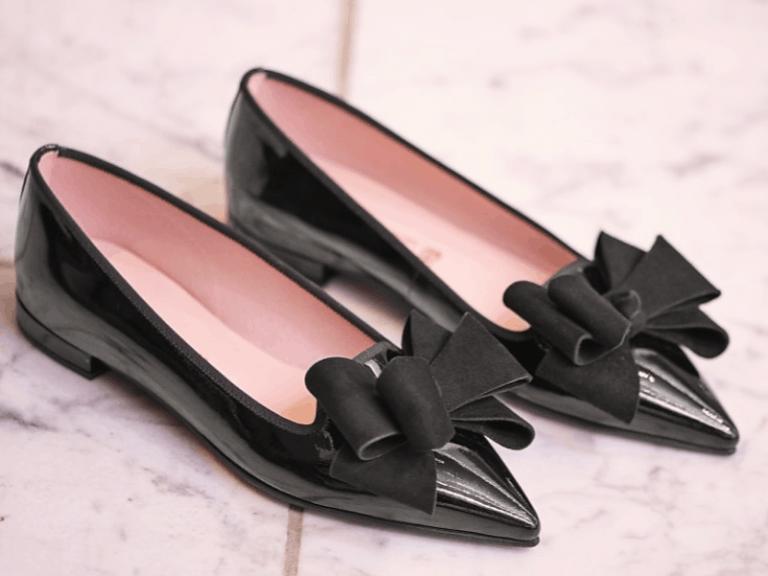 נעלי לכה   Pretty Ballerinas   Gloss