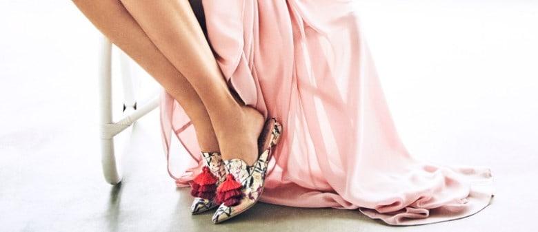 נעלי הפוינט לבלרינה שבך