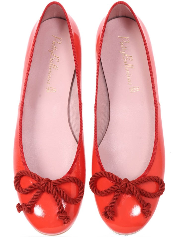 Autumn|כתום|נעלי בובה|נעלי בלרינה|נעליים שטוחות|נעליים נוחות|ballerinas