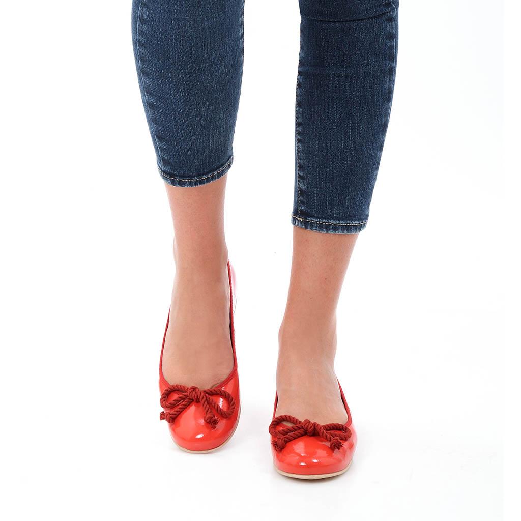 Autumn כתום נעלי בובה נעלי בלרינה נעליים שטוחות נעליים נוחות ballerinas