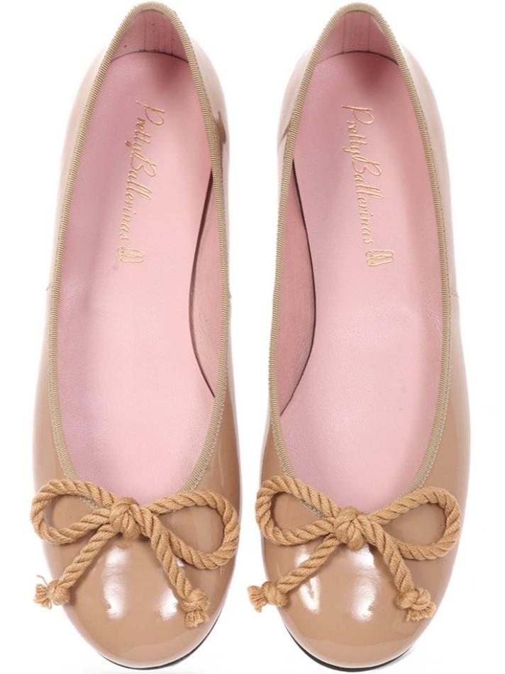 Hailey|כאמל|נעלי בובה|נעלי בלרינה|נעליים שטוחות|נעליים נוחות|ballerinas