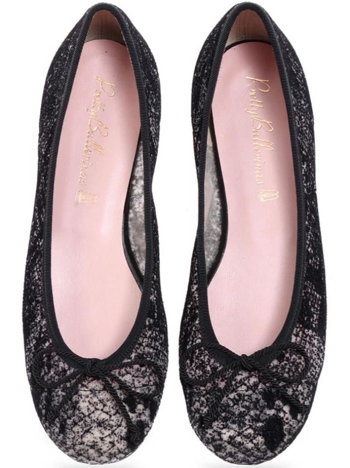 Naomiso|שחור|נעלי בובה|נעלי בלרינה|נעליים שטוחות|נעליים נוחות|ballerinas