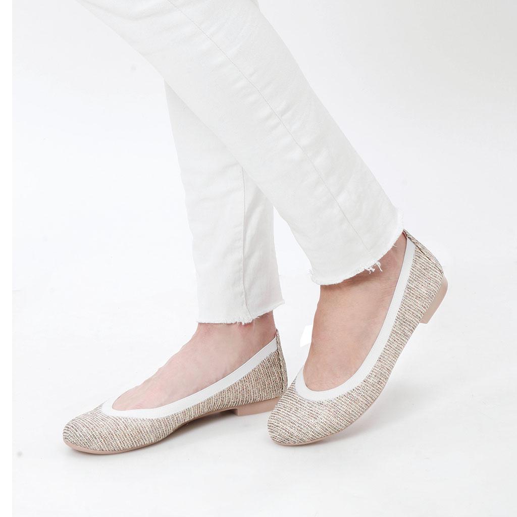 Lillianna|ניוד|נעלי בובה|נעלי בלרינה|נעליים שטוחות|נעליים נוחות|ballerinas