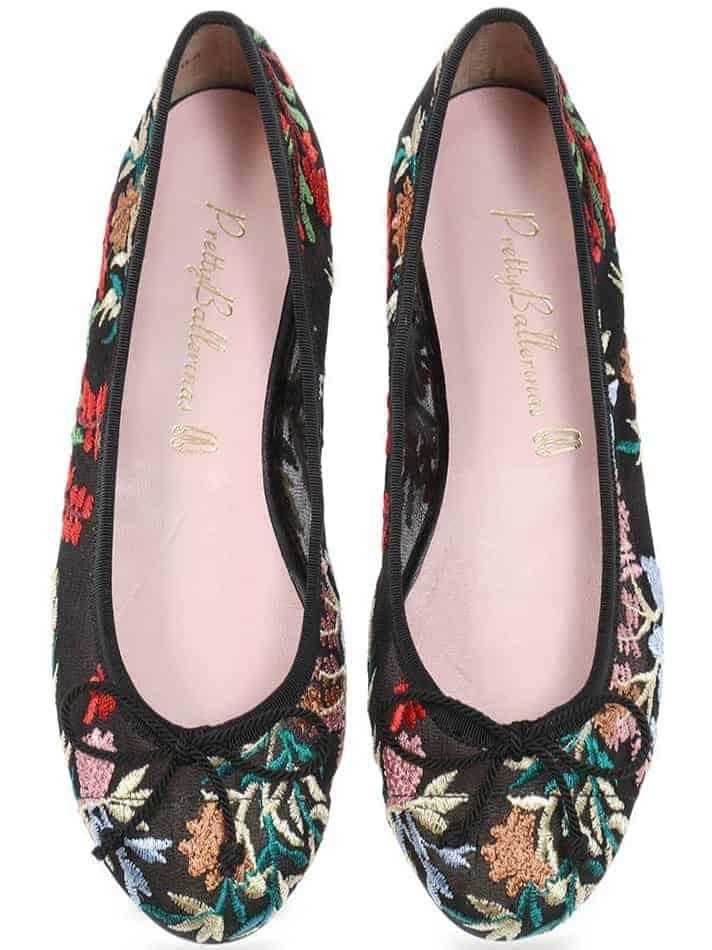 Deep Thought|שחור|אדום|ירוק|נעלי בובה|נעלי בלרינה|נעליים שטוחות|נעליים נוחות|ballerinas