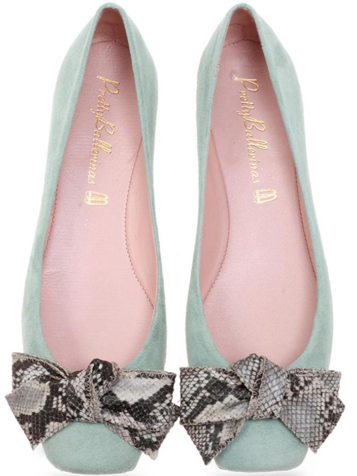 Tabitha|ירוק|ניוד|חום|נעלי בובה|נעלי בלרינה|נעליים שטוחות|נעליים נוחות|ballerinas