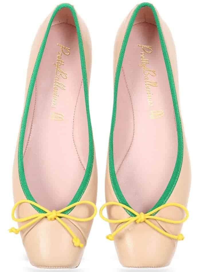 Coco Sun Point|חום|ניוד|נעלי בובה|נעלי בלרינה|נעליים שטוחות|נעליים נוחות|ballerinas