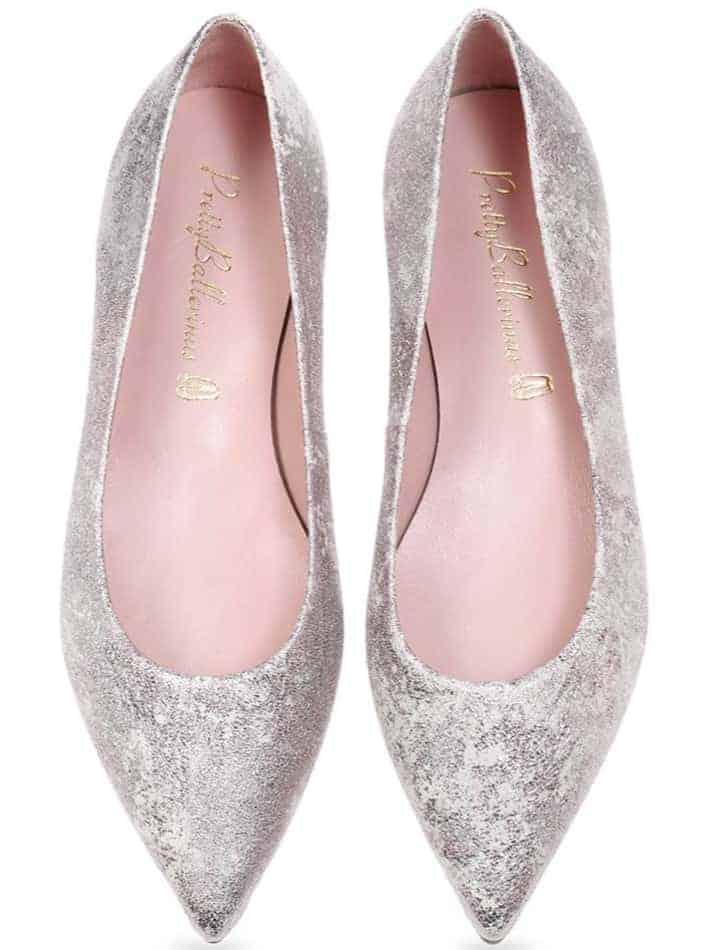 Nebu|ורוד|סגול|אפור|נעלי בובה|נעלי בלרינה|נעליים שטוחות|נעליים נוחות|ballerinas
