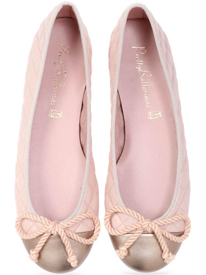 Corbet|זהב|נעלי בובה|נעלי בלרינה|נעליים שטוחות|נעליים נוחות|ballerinas