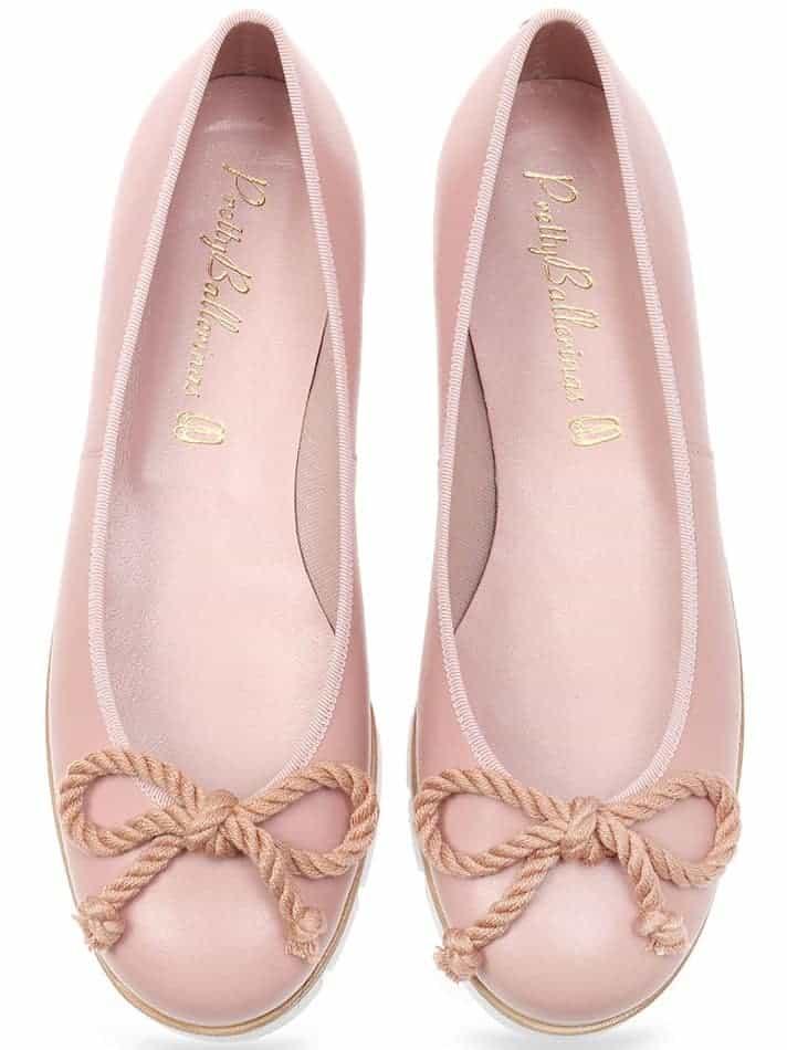 Pixie|ורוד|ניוד|נעלי בובה|נעלי בלרינה|נעליים שטוחות|נעליים נוחות|ballerinas