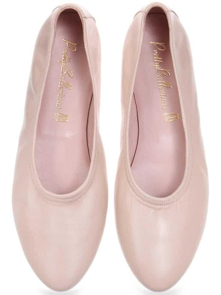 Black Napa|זהב|נעלי בובה|נעלי בלרינה|נעליים שטוחות|נעליים נוחות|ballerinas