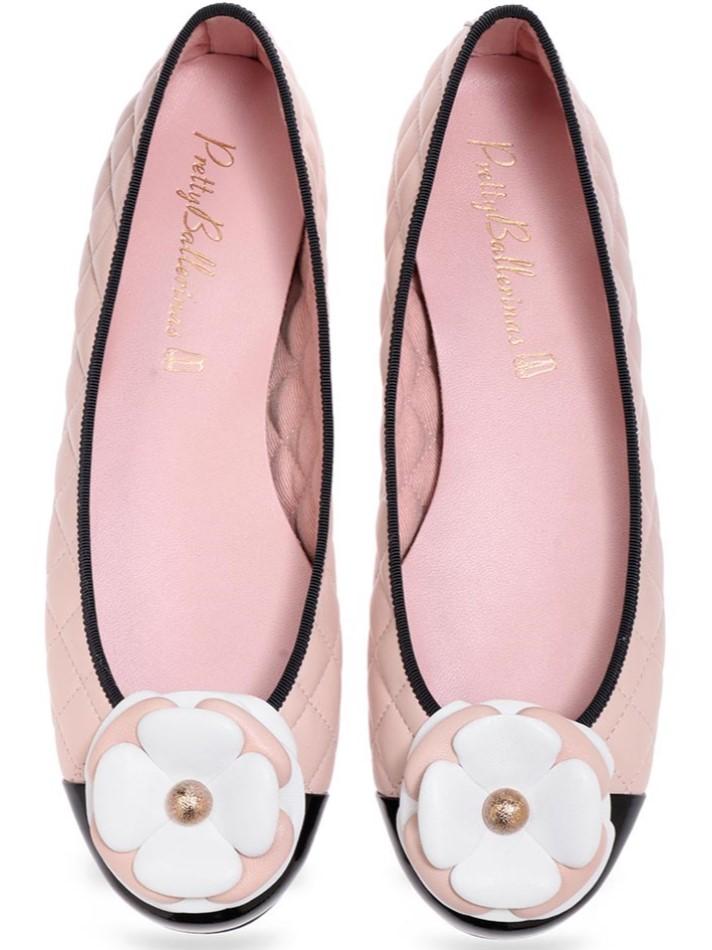 Marissa|שחור|זהב|נעלי בובה|נעלי בלרינה|נעליים שטוחות|נעליים נוחות|ballerinas