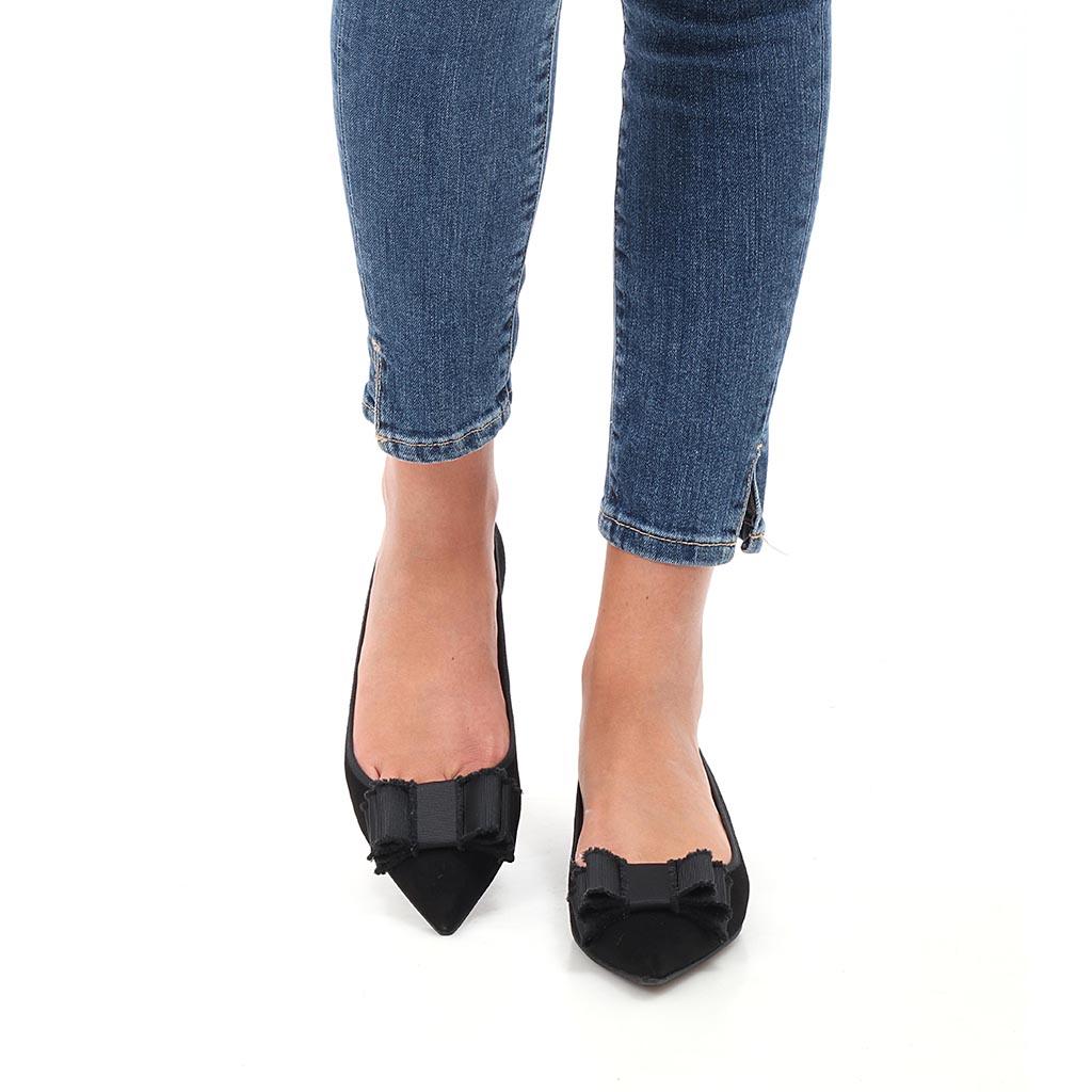 Harlow שחור נעלי בובה נעלי בלרינה נעליים שטוחות נעליים נוחות ballerinas