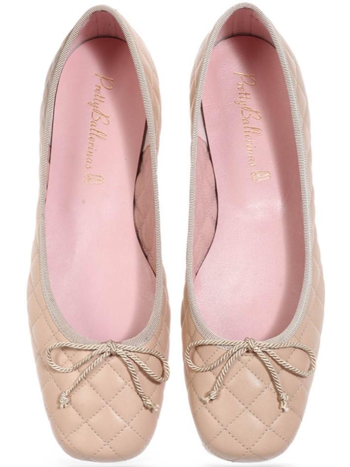 Hallie|חום|ניוד|נעלי בובה|נעלי בלרינה|נעליים שטוחות|נעליים נוחות|ballerinas