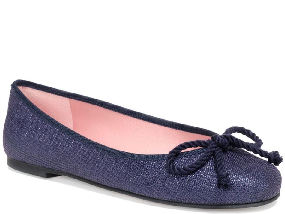 Arielle|כחול|נעלי בובה|נעלי בלרינה|נעליים שטוחות|נעליים נוחות|ballerinas