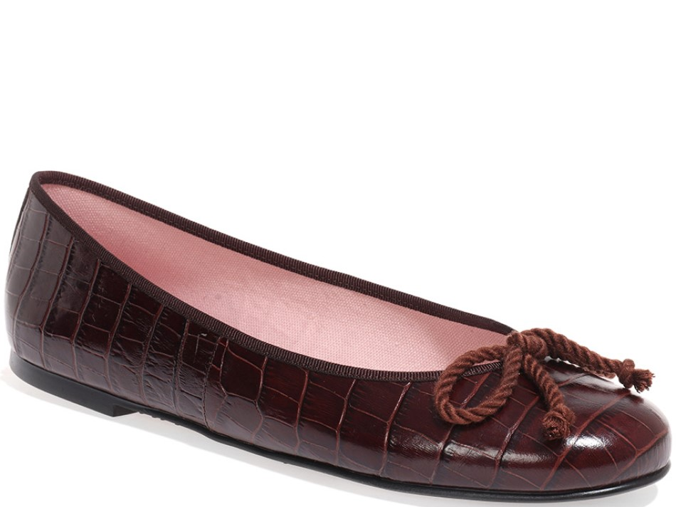 Aurora|חום|נעלי בובה|נעלי בלרינה|נעליים שטוחות|נעליים נוחות|ballerinas
