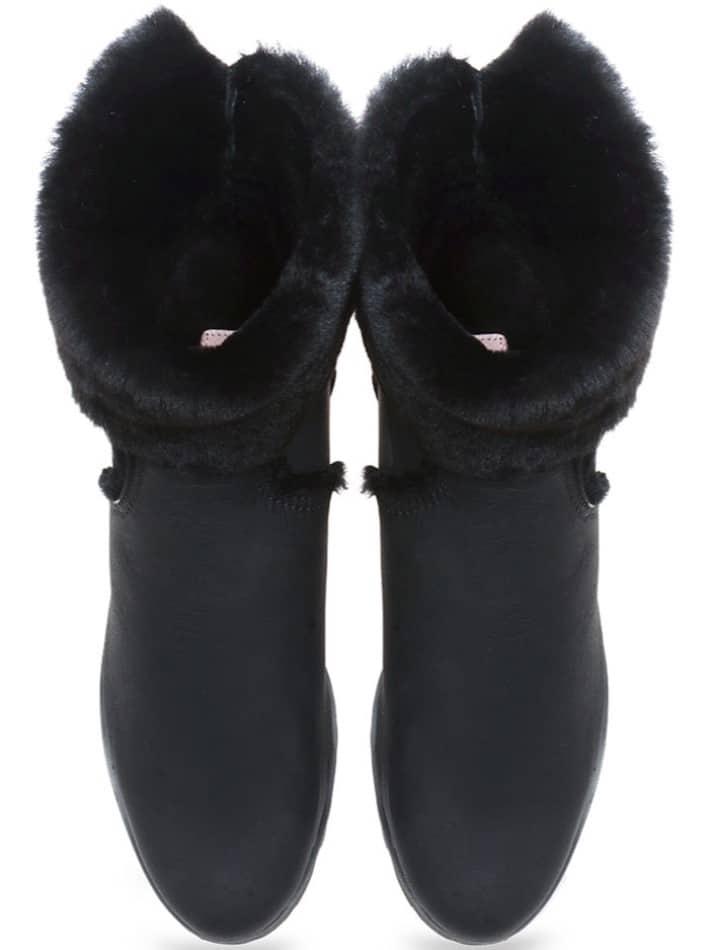 Hugging Boots|שחור|מגפונים|מגפוני נשים|מגפוני עקב